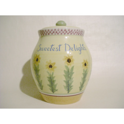 Cookie Jar The Secrets of Pistolet Pfaltzgraff Sunflowers