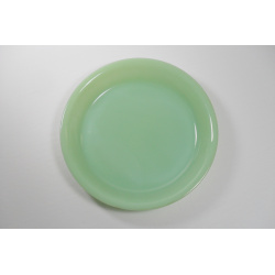 Fire King Jadite 9 Inch Pie Plate.